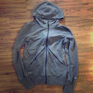Nike Drifit Traditions Hoodie Gray Size M